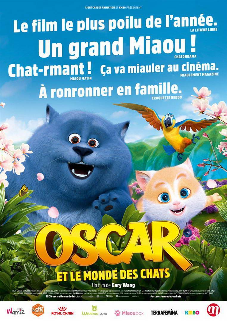 Oscar et le monde des chats (2018)