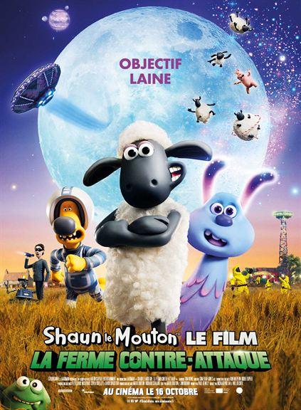 Shaun le Mouton: La ferme contre-attaque (2019)