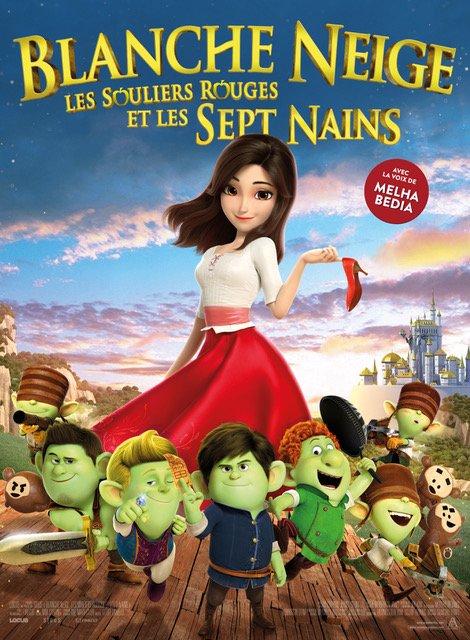 Blange-Neige, les Souliers Rouges et les Sept Nains (2020)